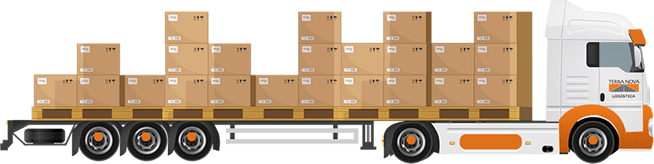 transporte de carga fracionada pequenos volumes de carga