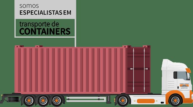 transporte de container porto de santos terra nova logística