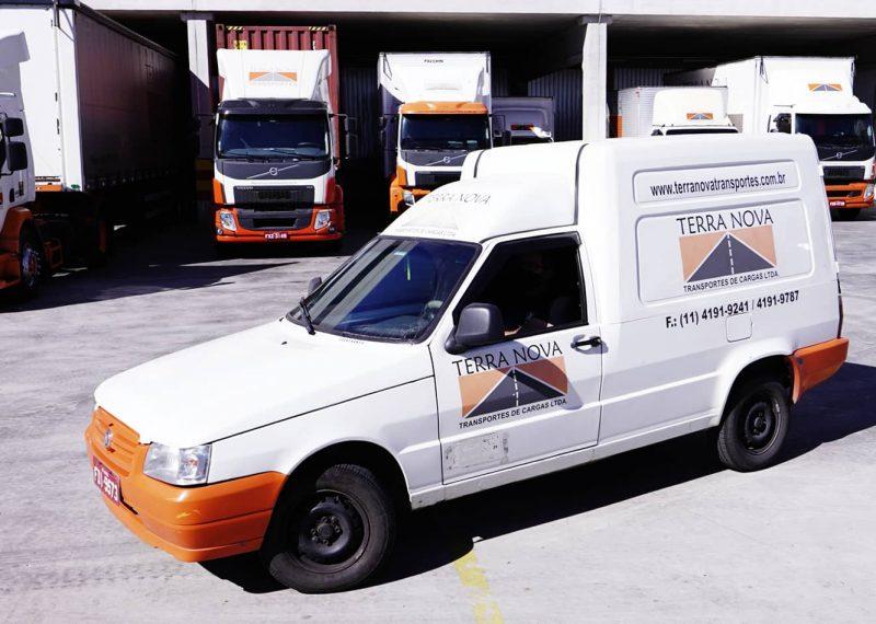 fiorino 2 transporte de cargas logistica terra nova