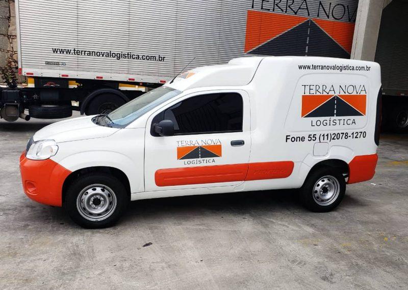 fiorino transporte de cargas logística terra nova