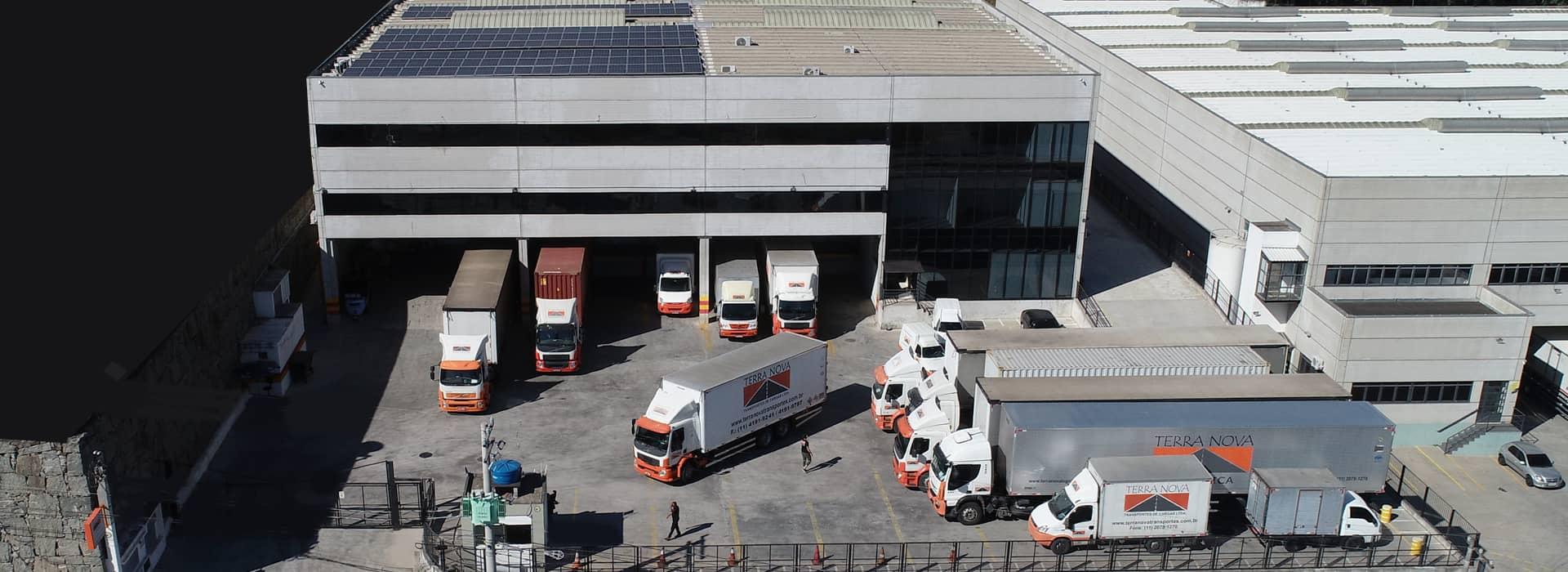 grupo terra nova logística empresa de transporte e centro de distribuição sp