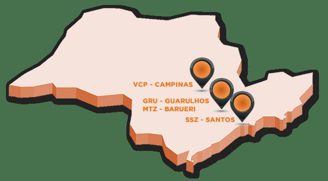 grupo terra nova logistica no estado de sao paulo barueri santos guarulhos campinas
