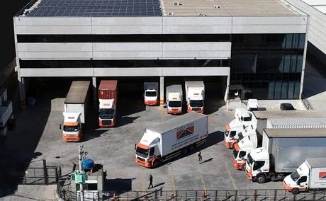terra nova logística transporte de cargas e armazém logístico