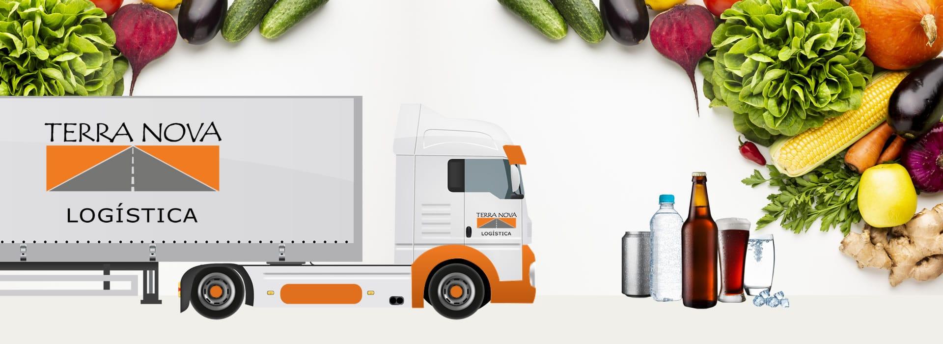 transporte de alimentos e bebidas