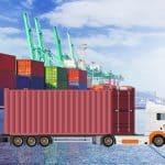 Capa blog transporte rodoviário de container