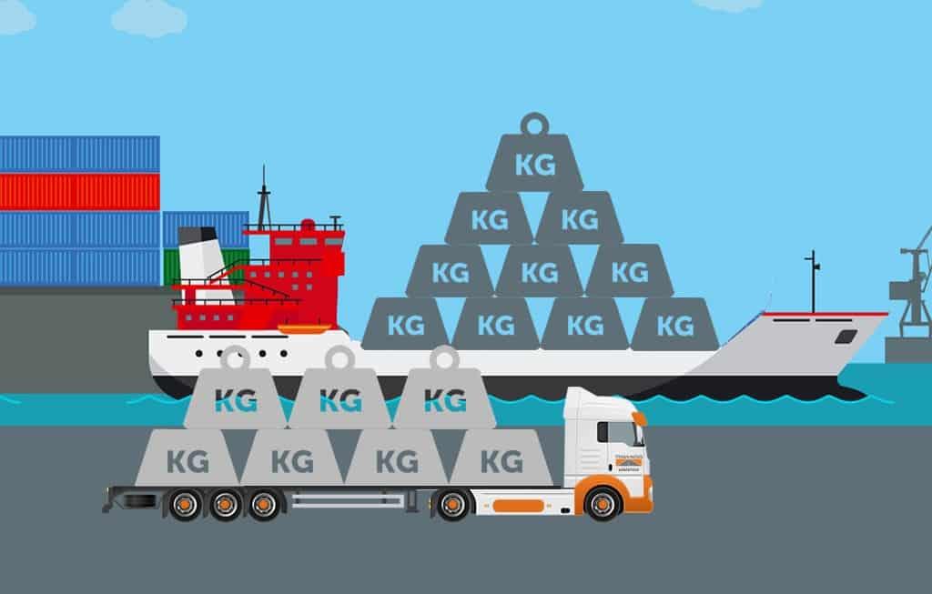 Capa blog A importância do peso da carga no transporte