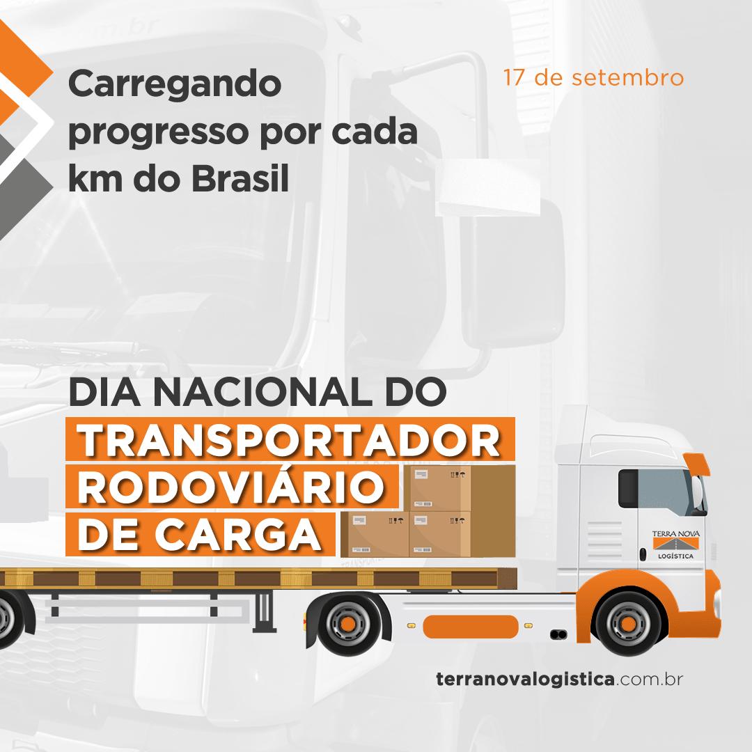 Dia do Transportador rodoviário de carga 2021
